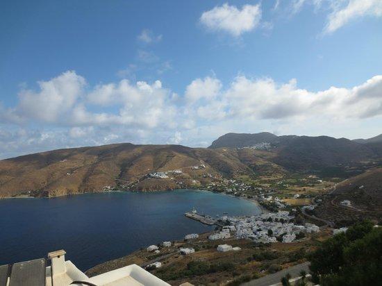 Pano Gitonia: Aegiali Bay
