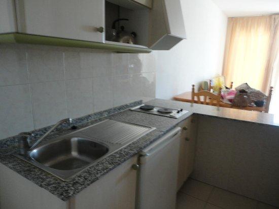 Apartamentos Primavera Loix: Cocina