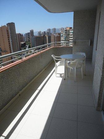 Apartamentos Primavera Loix: Terraza