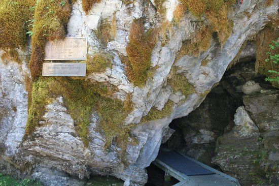 Oregon Caves National Monument : the entrance