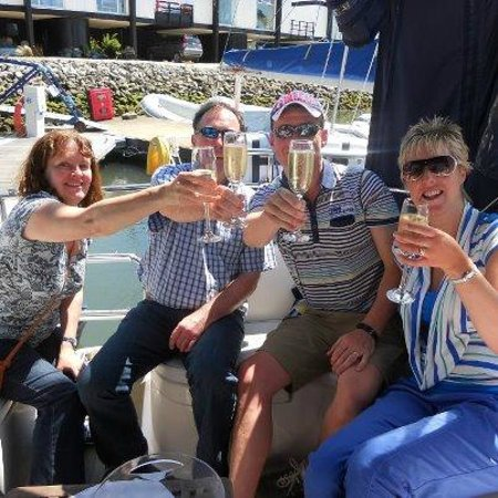 Emsworth, UK: Small party groups