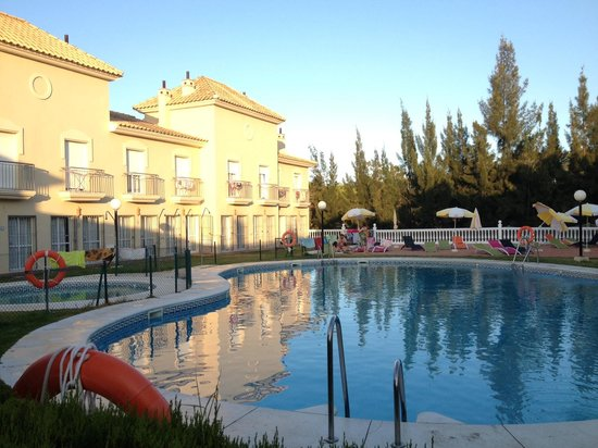 Apartamentos Turísticos Interpass Golf Playa: Vista final dia desde a sala de Jantar