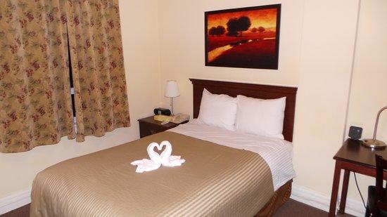 Baldwin Hotel: Full-size bed