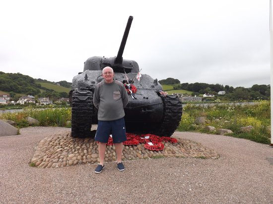 Slapton Sands: The Late Ken Smalls Tank