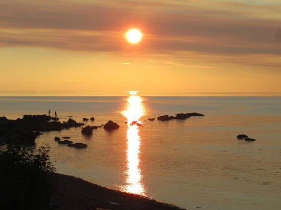 Auberge Festive Sea Shack: Les fabuleux couchées de soleil