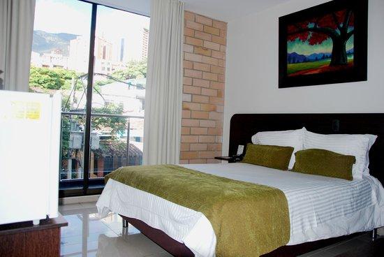 Hotel Acqua Medellin: Habitación Single