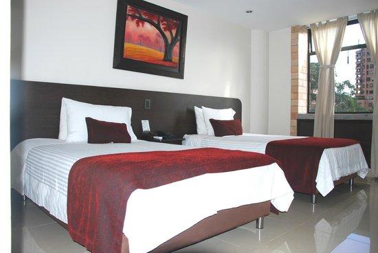 Hotel Acqua Medellin: Habitación Twin