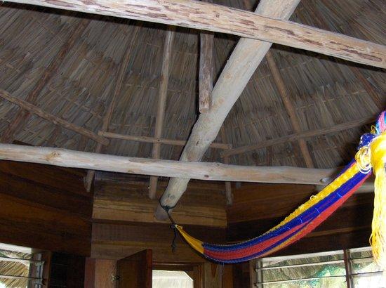 Costa de Cocos: Cabin interior.