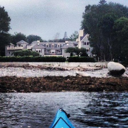 Balance Rock Inn from the ocean