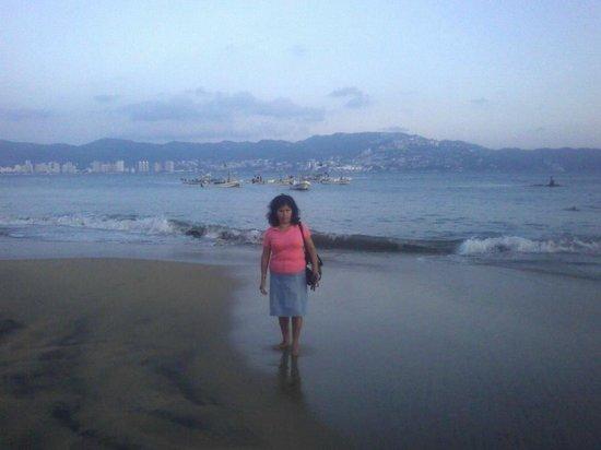 Playa Tamarindos al atardecer