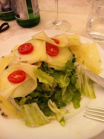 Ristorante Enoteca Del Duca: Salada maravilhosa.