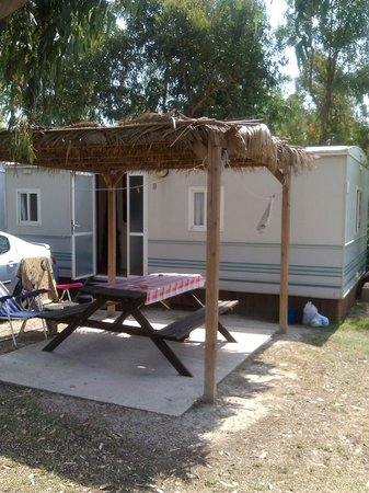 Camping Ampolla Playa: movil home