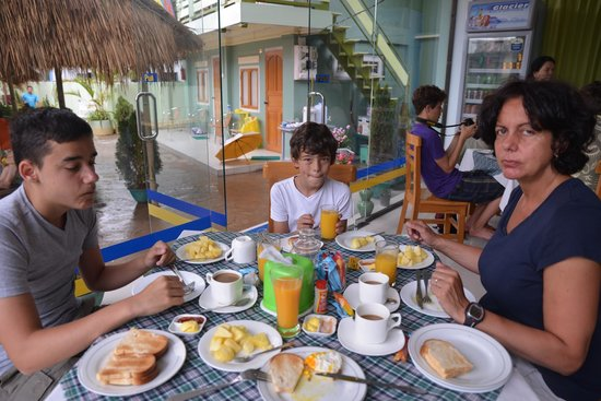 Hotel Lily The Home: very good breakfast  with fresh fruit every morning