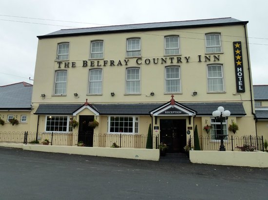 The Belfray Country Inn: The front of the hotel