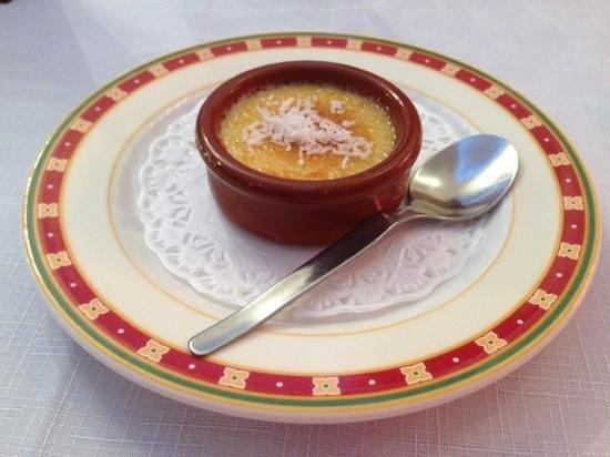 Auberge du Teillon: Mini creme brulee