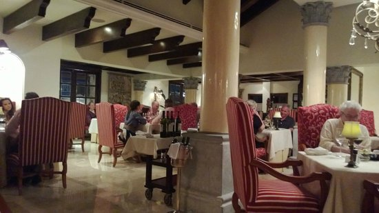 Royal Hideaway Playacar Palazzo Restaurant Italian Supper