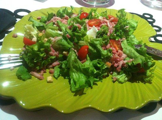 L'arome : salade...la suite....