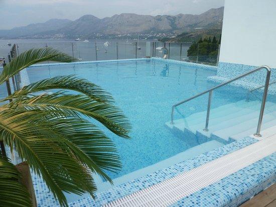 Hotel Cavtat Pool Picture Of Cavtat Dubrovnik Neretva County Tripadvisor