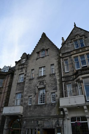 Columba Hotel Inverness by Compass Hospitality: l'esterno
