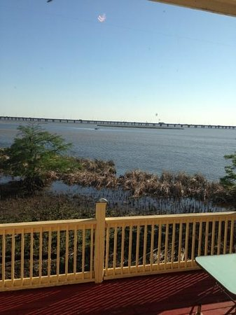 Ed's Seafood Shed: View from our table!