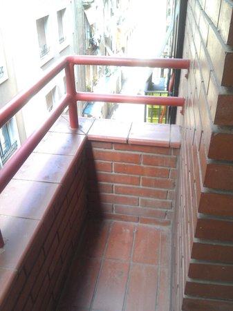 Ronda House Hotel: Terrassen, balconey