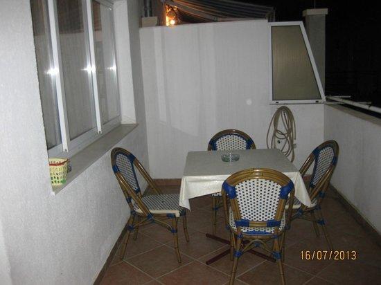 Apartments Prince Hrvoje: Balcony