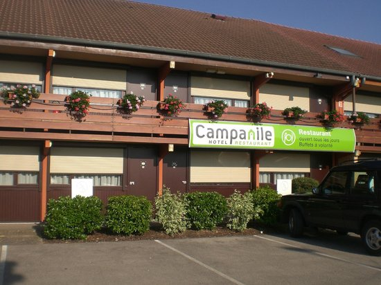 Campanile Epernay - Dizy: le stanze