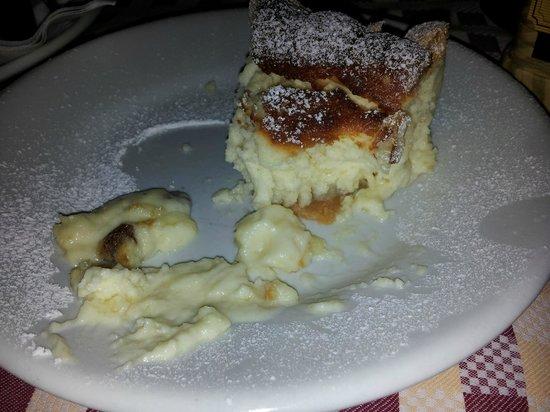 Osteria dell'ignorante: amazing mascarpone cheesecake !