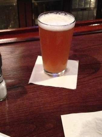Liberty Brewery & Grill : the greatest beer they have...the raspberry wheat
