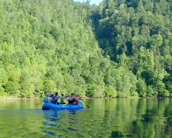 Big Creek Expeditions: Lower Section Scenic Float Trip