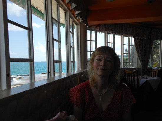 Samsara Cliffs Resort: Dining area