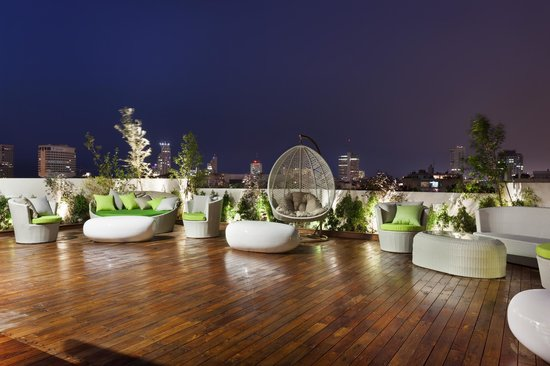 Shenkin Hotel: Rooftop Sundeck