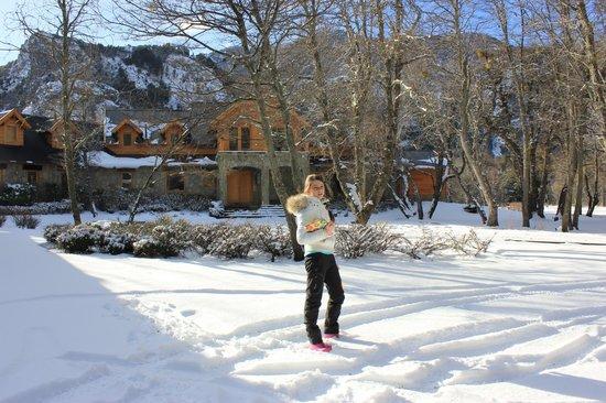 Rio Hermoso Hotel de Montana: Vista a entrada