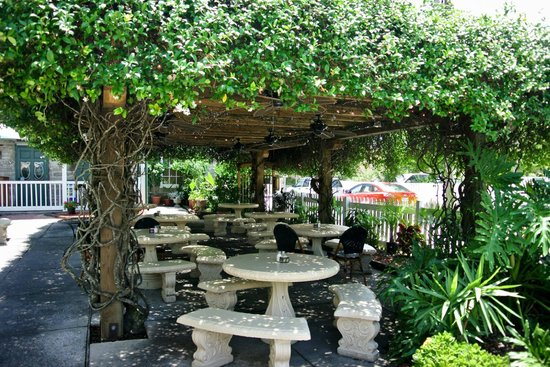 O.C. White's Seafood & Spirits : Plenty of seating outside (if the weather is cool enough!)