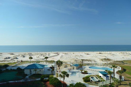 Plantation Palms at Gulf Shores Plantation: View from our room