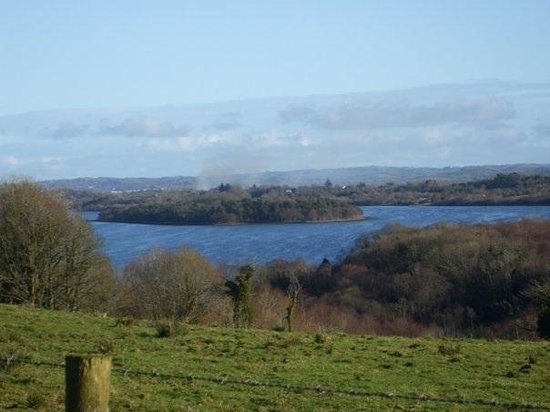 Finn Lough: Beautiful view over Lough Erne