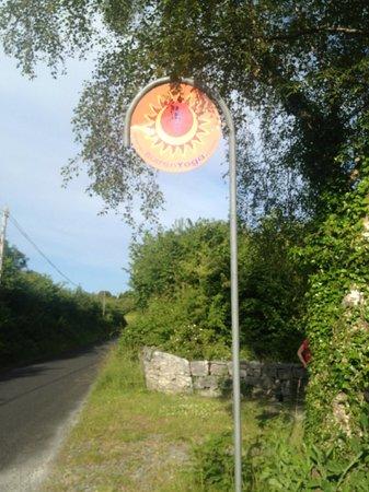 Burren Yoga Retreats : entrance