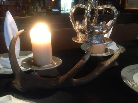 Restaurant Chez Heini: Tolle Deko!