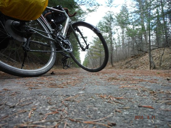 Paul Bunyan State Trail: Late spring on the Paul Bunyan Trail