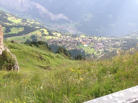 Berghaus Maennlichen: mountain view