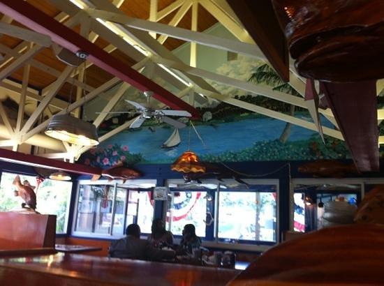 New England Fish Market & Restaurant: interior