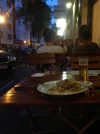 Engelbät: Chicken and banana curry summer crêpe...