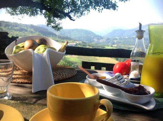 Caserío Buenavista- Kaxkarre: Breakfast