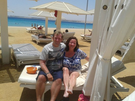 Premier Romance Boutique Hotel and Spa : Kenny and Susanna McNab, Premier Romance Boutique Hotel, Sahl Hasheesh, 2013