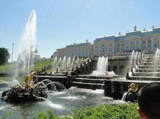 Express to Russia: Summer Palace, St Petersburg, Russia