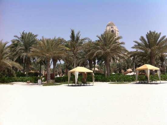 Residence & Spa at One&Only Royal Mirage Dubai: Cabana's at the beach