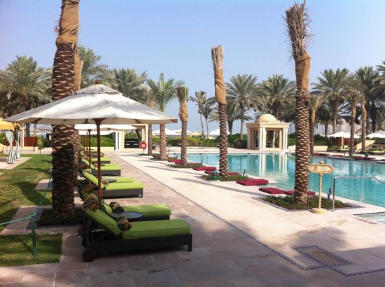 Residence & Spa at One&Only Royal Mirage Dubai: Pool area