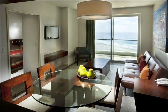Rosarito Beach Hotel 2 Bedroom Inium Pacifico Tower Linving Room