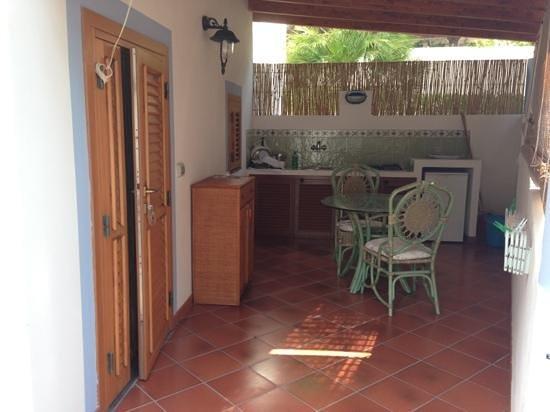 Villa Crimi : La nostra veranda...meravigliosa...������