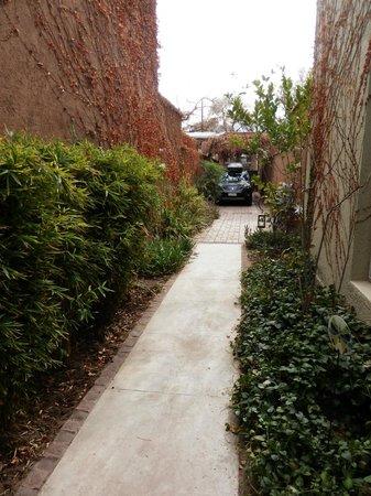 Casa Lila: Entrada